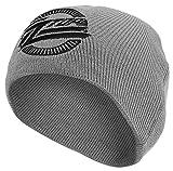 メンズ ニット ZZ Top Circle Logo 新しい 公式 グレー ビーニーハット