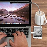USB LEDライト MECO 10LED グースネック式 USBスティックライト・USBフレキシブル ライト タッチスイッチ式 調整でき USB LED読書灯 パソコン専用 キャンピング・ハイキング・リーディング・ライティングなど用