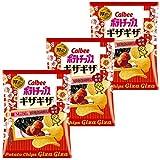 カルビー ポテトチップス ギザギザ 紀州の梅と焼きのり味 58g ×3袋