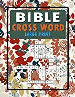 Bible Crossword Large Print: Book Vol. 2  Word Find Bible for Adults and Kids Game Easy Puzzle and Solution