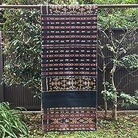 イカット サウ島 インドネシアの本物 アンティーク 絣織物 型番4001
