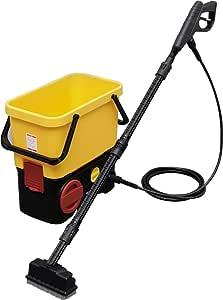 アイリスオーヤマ 高圧洗浄機 タンク式 充電タイプ デッキブラシセット SDT-L01V