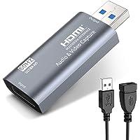 KINGONE HDMI キャプチャーボード ビデオキャプチャー USB3.0 60fps フルHD1080P hdmi…
