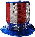 Beistle 60701Glitz ' N Gleam Uncle Sam Top Hat