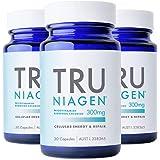 TRU NIAGEN® Nicotinamide Riboside Chloride - Patented NAD+ Booster supporting Cellular Energy & Repair, 300mg Vegetarian Caps