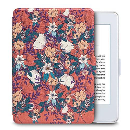 WALNEW Amazon ホワイトなKindle Paperwhite向け専用ケース Kindle Paperwhiteマンガモデル用カバー 最も薄く、最軽量の保護 オートスリープ機能付き