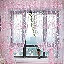 【ノーブランド品】高品質 ドアカーテン チュール 薄手 カーテン 装飾 窓 部屋 ボイルカーテン 100x200cm (NO.2)