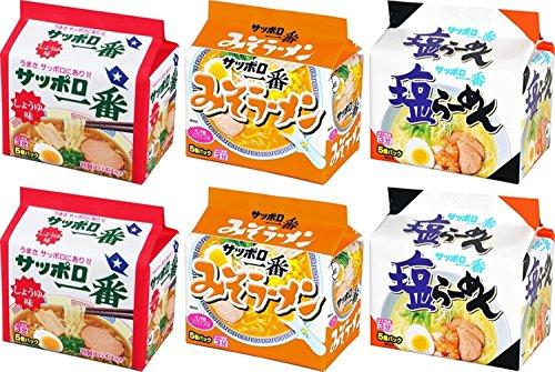 全国で売れてる「インスタント袋麺」1位はサッポロ一番みそ?醤油?塩?