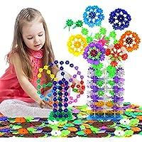 雪の花びら 立体パズル 知育玩具 子供おもちゃ プレゼント収納ケース付き500ピース