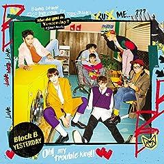 Yesterday (Japanese Version)♪Block BのCDジャケット