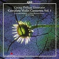 Georg Philipp Telemann: Complete Violin Concertos, Vol. 1 (2004-05-18)