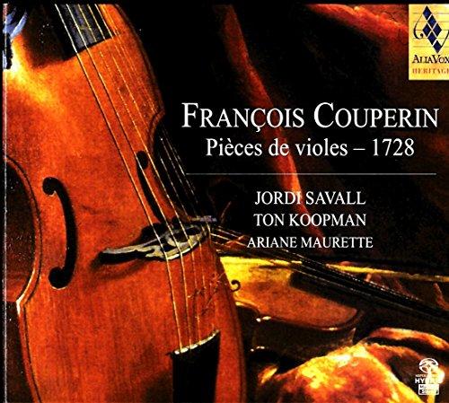F.クープラン: ヴィオール曲集 - 1728 (Francois Couperin : Pieces de violes -1728 / Jordi Savall, Ton Koopman, Ariane Maurette) [SACD Hybrid] [輸入盤]