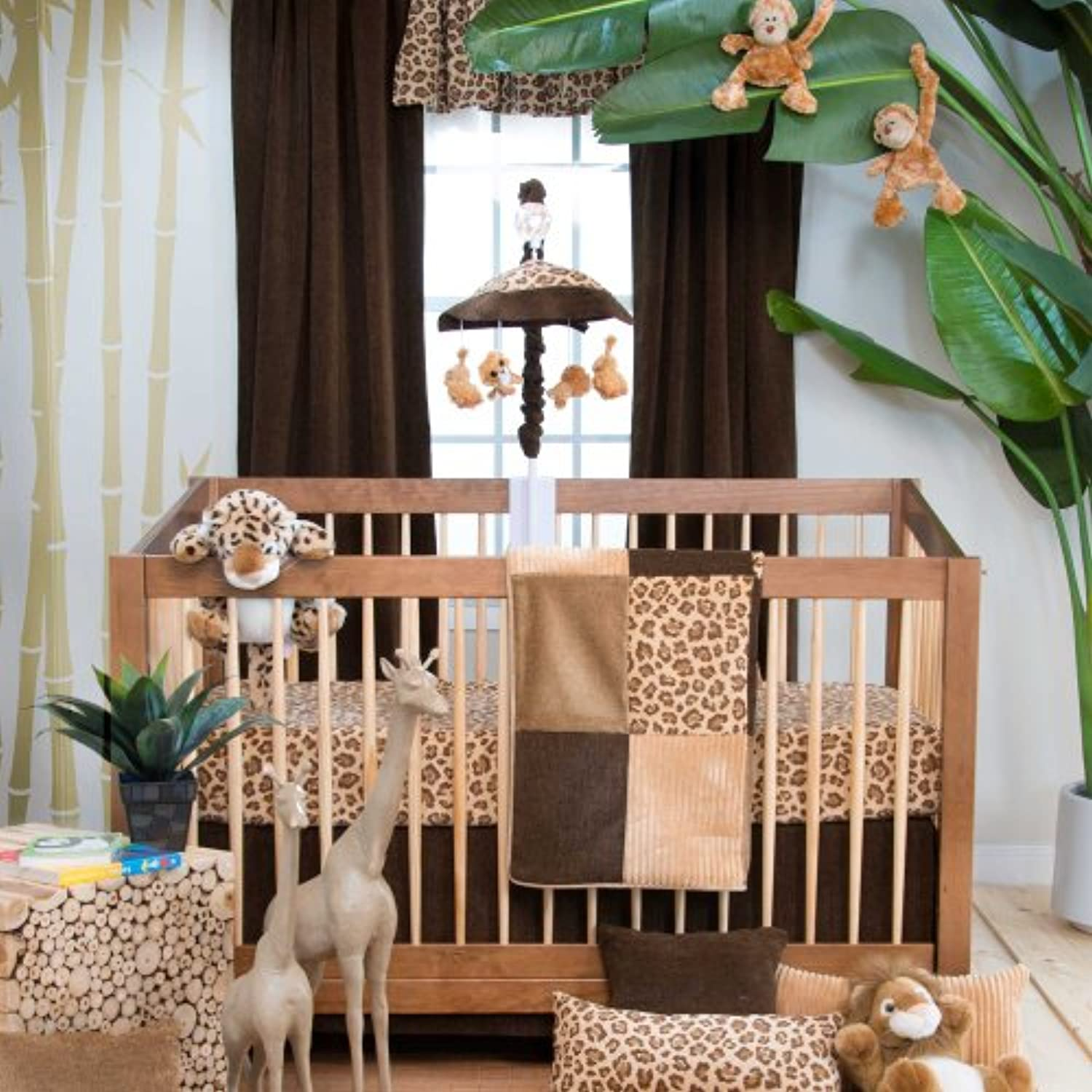 Tanzania 3 Piece Baby Crib Bedding Set by Glenna Jean by Glenna Jean