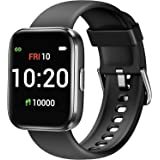 Letsfit Smart Watch for Android Phones Compatible with iPhone Samsung, Fitness Tracker with Blood Oxygen Saturation & Heart R
