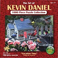 The Art of Kevin Daniel Vacation Time 1000 Piece Puzzle [並行輸入品]