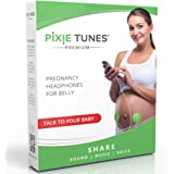 Pixie Tunes Premium High-Fidelity Baby Bump Speaker System to Play Sound, Music and Talk to Your Baby in The Womb; Compatible