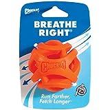 Chuckit! 31932 Breathe Right Fetch Ball, Orange, Medium