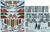 ファーボールエアロデザイン 1/48 アメリカ空軍 F-102 デルタ・ダガー カラー&マーキング プラモデル用デカール FDS-4817