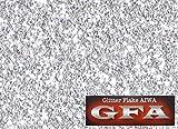 GFA グリッター フレーク シルバー 10g / ラメ カスタム ネイル ヘルメット