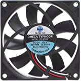 AINEX OMEGA TYPHOON 薄型・超静音タイプ [ 80mm角 ] CFZ-8015SA