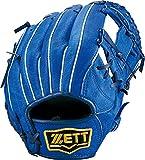 ZETT(ゼット) 少年野球 軟式 オールラウンド グラブ(グローブ) アクロキャッチ (右投げ用) BJGB77720 ブルー