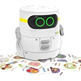 REMOKING STEM Educational Robot Toy,Dance,Sing, Guess Card Game, Speak Like You, Touch Control,Recorder,Interactive Kids Lear