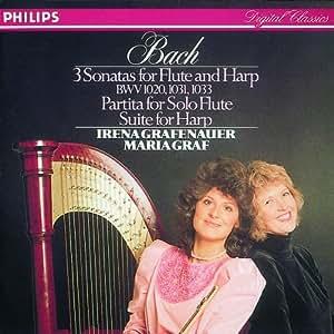 Bach:3 Sonatas for Flute &Harp