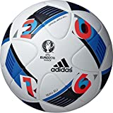 adidas(アディダス)ボー ジュ 試合球 サッカーボール 5号球 ホワイト ユーロ2016 国際公認球 AF5150 ホワイト