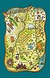 Kay Dee Designs F2158 アドベンチャーデスティネーション ポスタースタイル ティータオル ニューハンプシャー