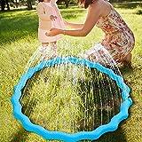スプラッシュリング 噴水 シャワー プレイ輪 夏 水遊び 芝生遊び 水 夏の日 子供用 おもちゃ プール ビーチ 家族 友達 大型 夏対策 おもしろい