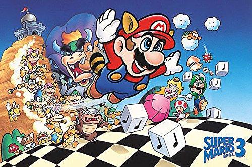 Super Mario Poster Super Mario...