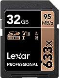 レキサープロフェッショナル633x 32GB SDHC UHS-Iカード、イメージレスキュー5ソフトウェア付 - LSD32GCB1NL633