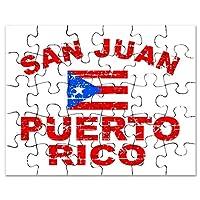 CafePress–San JuanプエルトリコDesigns–ジグソーパズル、30個。