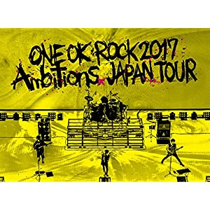 "LIVE Blu-ray 「ONE OK ROCK 2017 ""Ambitions"