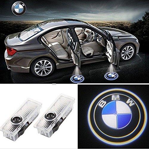 BMW ウェルカムランプ、KVCH 1灯LED礼儀照明簡単取り付け車のドアレーザープロジェクターロゴゴーストシャドーライトfor E83 E84 X1 X3 F01 F02 F03 F04 E65 E66 E67 E68 F10 E60 E61 M3 M5 F07 E63 E64 E90 E90 E92 E93 E93 E93 E93 E93 E93