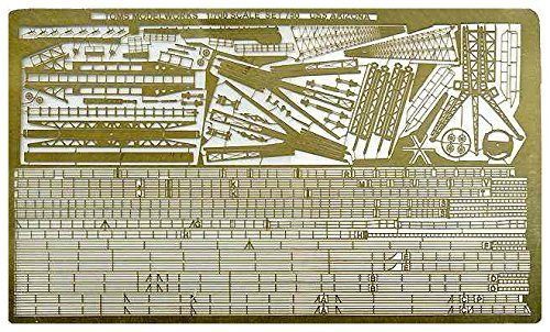 トムスモデル 1/700 艦船用エッチング 米海軍 戦艦 アリゾナ用 PE93
