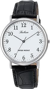 [シチズン Q&Q] 腕時計 Falcon ファルコン Q996-304 ブラック