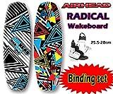 AIRHEAD ラディカル ウェイクボード 2点セット 25.5-28cm