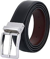 NEESE(ニーズ) ベルト メンズ ビジネス おおきいサイズ リバーシブル カジュアル ブラック ブラウン 革 ロング サイズ調整可能 紳士