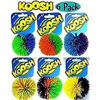 Koosh Balls Multi-Color Gift Set Bundle - 6 Pack by Basic Fun [並行輸入品]