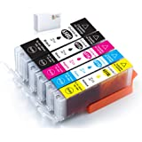 Galada Compatible Ink Cartridges Replacement for Canon PGI-650XL PGI650 XL CLI-651XL CLI651 XL 651 for IP7260 IP8760 MG5460 M