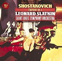 SHOSTAKOVICH: SYMPHONY NO.4 by Leonard Slatkin (2011-10-05)