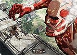 キャラクター万能ラバーマット 進撃の巨人 エレン VS 超大型巨人