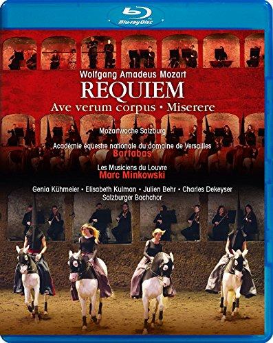 モーツァルト : レクイエム | ミゼーレ | アヴェ・ヴェルム 他 (Wolfgang Amadeus Mozart : Requiem | Ave verum corpus | Miserere / Bartabas | Marc Minkowski) [Blu-ray] [輸入盤] [日本語帯・解説付]