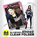 ジェニー (BLACKPINK / ブラックピンク) クリア フォルダー / ファイル (Clear Folder / File) A4 SIZE グッズ