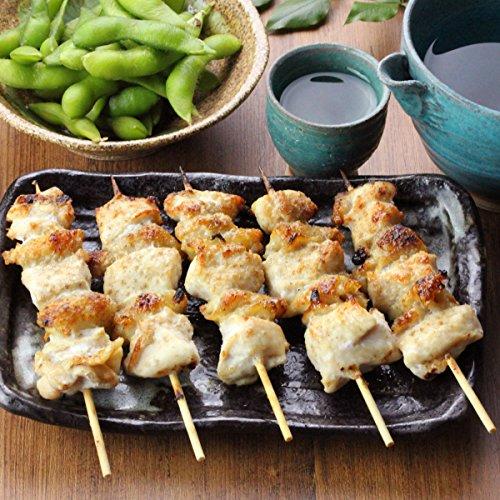 水郷のとりやさん 国産 鶏肉 むね肉と皮焼き鳥 5本入 塩味 2人前〜3人前 肉加工品 調理済み