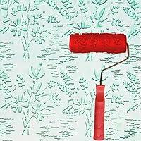 エンボスローラー、液体壁紙壁アートアートペイント印刷珪藻土泥テクスチャアート塗料建設ツール5インチ (色 : A)