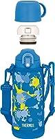サーモス 水筒 真空断熱2ウェイボトル ネイビーハート