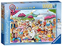 Ravensburger Best of British No.20 - The Cruise Ship, 1000pc Jigsaw Puzzle