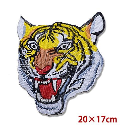 [해외]유 패킷 발송 다리미 접착 수 있습니다 문장 호랑이 호랑이 호랑이 배지 엠블럼 패치 아플리케 큰 사이즈 다리미 접착/Yu Packet Delivery Iron Bonding Can Be Patch Tiger Tiger Tiger Badge Emblem Patch Applique Big Size Iron Glue
